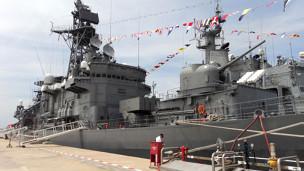 Chiến hạm INS Airavat của Ấn Độ