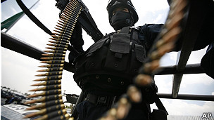 Soldado mexicano.