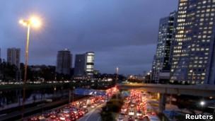 Avenida de S�o Paulo. Reuters