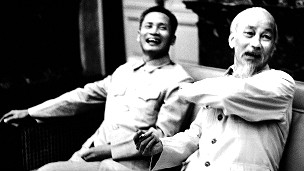 Hai ông Phạm Văn Đồng và Hồ Chí Minh