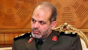 احمد وحیدی وزیر دفاع ایران
