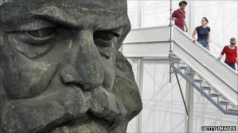 Estatua de Karl Marx