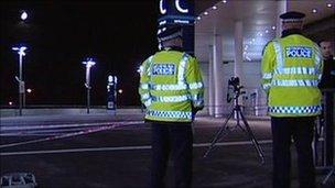 Polisi uwanja wa Wembley wakichunguza mauaji