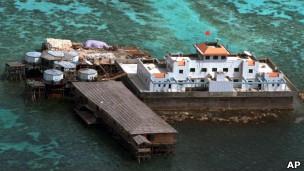 Trung Quốc kiên cố hóa một đảo mà họ chiếm tại Trường Sa