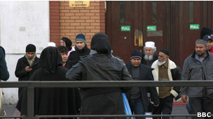 مسجدی در شرق لندن