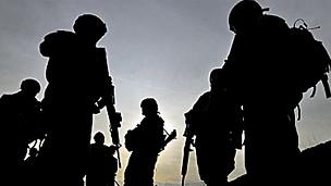 Lính Hoa Kỳ ở Kabul