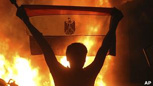 开罗反以色列抗议示威