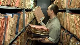Archivo de documentos de la Stasi