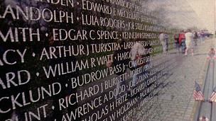Đài tưởng niệm cuộc chiến Việt Nam ở Washington