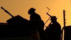 Atiradores rebeldes miram alvos contra tropas pró-Kadhafi em Bani Walid (BBC)