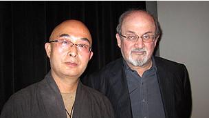 Liao Yiwu y Salman Rushdie