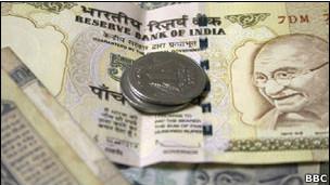 Economía de India.