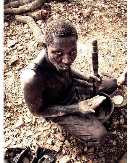 ناموري كيتا عامل منجم من مالي