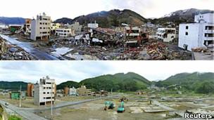 Japón, antes y después.