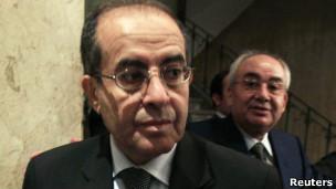 Mahmoud Jibril, primer ministro interino