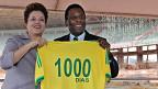 Dilma Rousseff y Pele