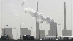 Planta energética a carbón en China