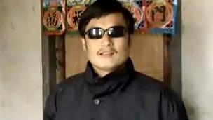 盲人维权活动者陈光诚