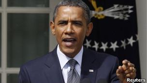 美国总统奥巴马(9月19日)