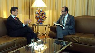 BBC Mundo habla con Enrique Peña Nieto