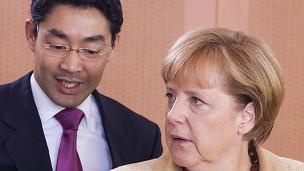 Ông Philipp Roesler và Thủ tướng Đức