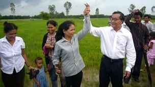 Thủ lĩnh đảng đối lập Sam Rainsy