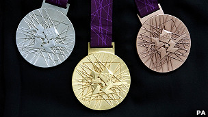 Medallas de Londres 2012