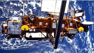 Satélite UARS de la NASA.