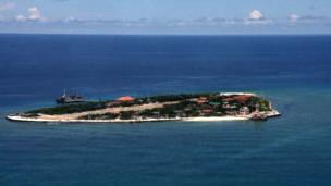 Một hòn đảo ở Trường Sa