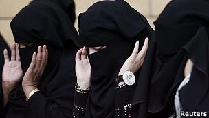 Mulheres sauditas (Foto Reuters)