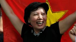 Bà Đặng Bích Phương (Ảnh: GS.TSKH Hoàng  Xuân Phú)