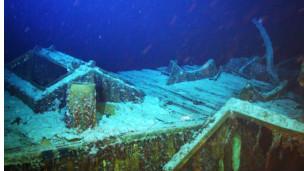 盖尔索帕号在1944年被德国潜水艇的鱼雷击沉。