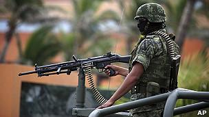 Militar en Veracruz