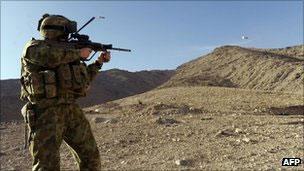 Soldado australiano (arquivo/AFP)