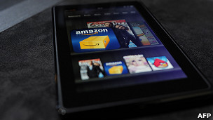 Tableta Kindle Fire de Amazon