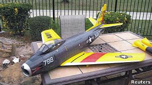 Avião que seria usado no ataque. Foto: Reuters