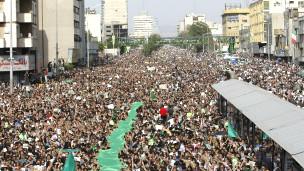 تظاهرات پس از انتخابات