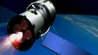 Hình video minh họa trạm không gian tương lai của Trung Quốc