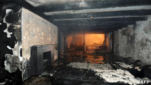 Casa incendiada de Breno