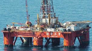 Giàn khoan dầu trên Biển Đông