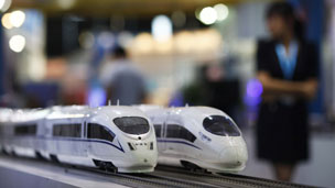 中国高铁模型