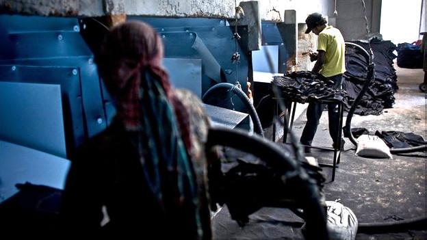 Fábrica en Bangladesh