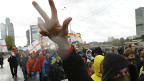 Марш противников иммиграции в Москве 1 октября