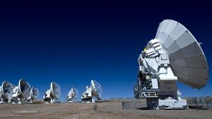 هوائيات تلسكوب الما