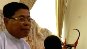 Industry Minister of Burma, U Soe Thein
