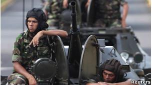 parada militar en Nicaragua