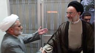 عبدالله نوری و محمد خاتمی