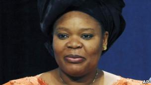 Leymah Gbowee em foto de arquivo, de 2009