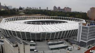"стадион  ""Олимпийский "" в Киеве."