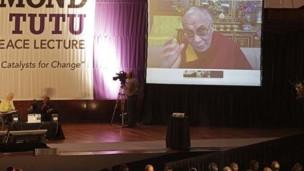 达赖喇嘛视频讲话